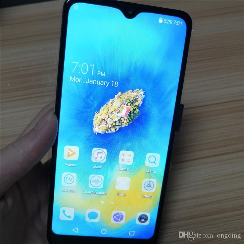 High quality 6.5 inch water drop screen Cheap Mate20 Pro Smartphone MTK6580P Quad Core 1GB+4G Mobile Phone 3000mAh Capacity Battery