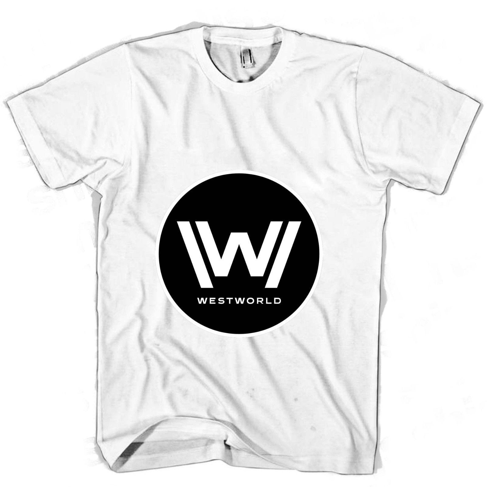 835e16a1df6c Westworld Block Men's / Women's T Shirt wholesale free shipping New  Brand-Clothing Top Tee Men T Shirt 2018 Summer 100% Cotton