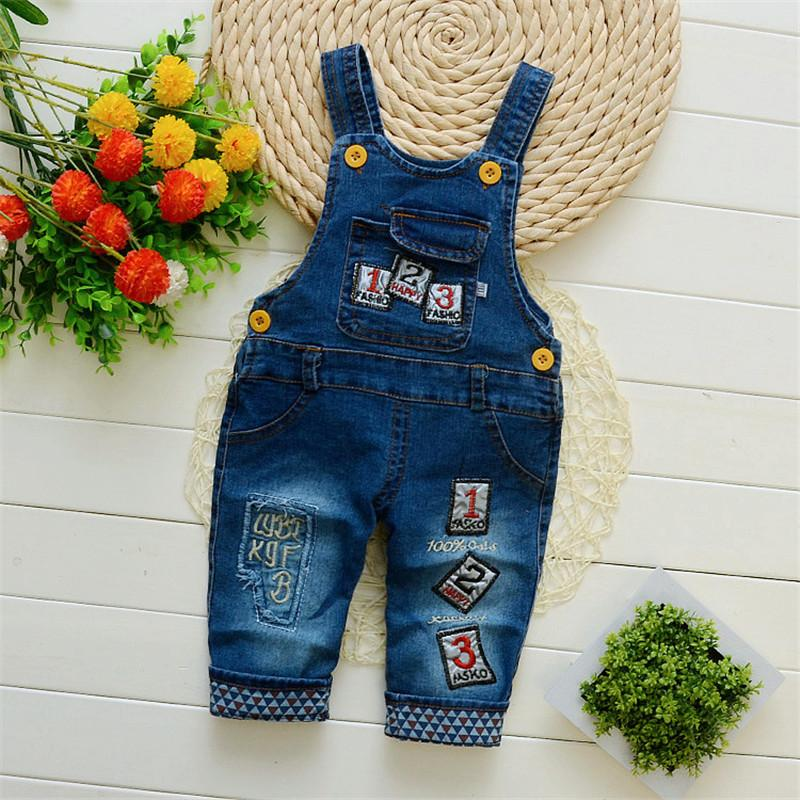 0294f84e20c Good Quality Baby Boy Denim Jumpsuits Kids Boys Bib Pants Children Jeans  Overalls Long Kids Infant Suspenders Pants For Girls Canada 2019 From  Westbit15