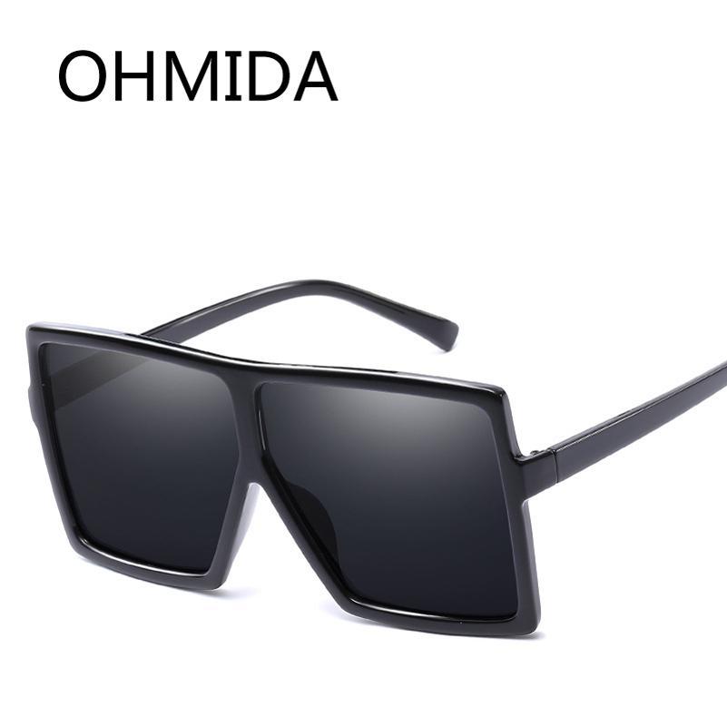 3a3f8e35539 OHMIDA New Fashion Oversized Sunglasses Women Brand Designer Vintage Pink Sun  Glasses Female Sunglasses Luxury Shades UV400 Best Sunglasses For Men  Vuarnet ...