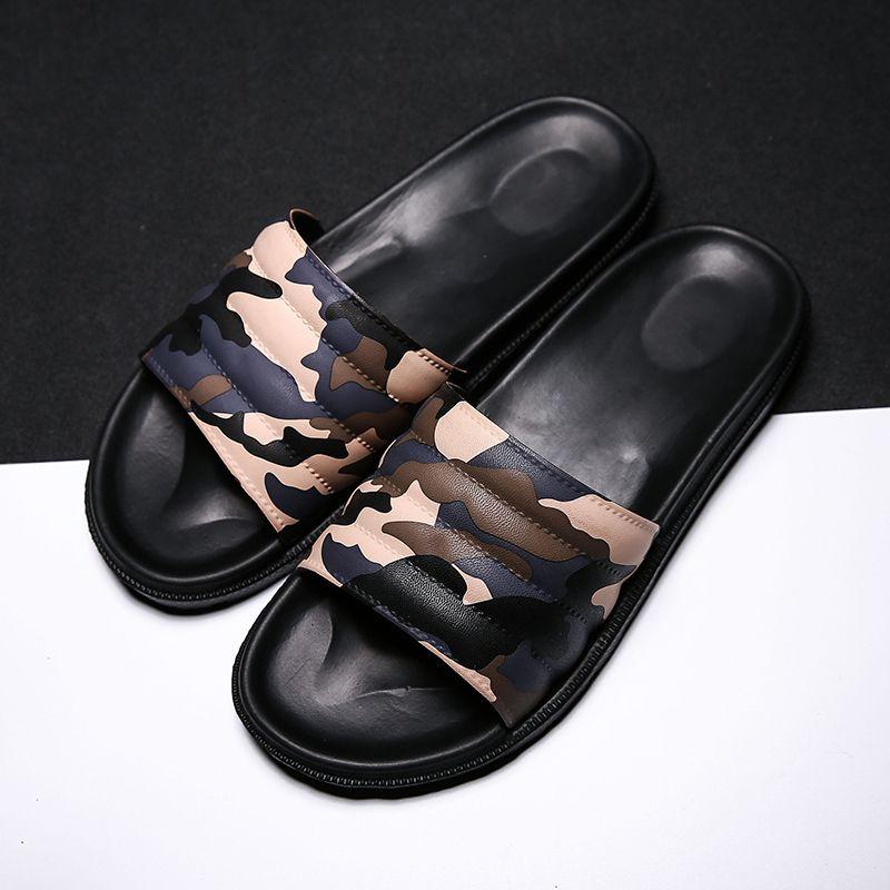 27b7dc0b5ba2 New Designer Rubber Slide Sandal Floral Brocade Men Slipper Gear Bottoms  Flip Flops Light Striped Beach Slippers Camouflage Flip Flops Chukka Boots  Fringe ...