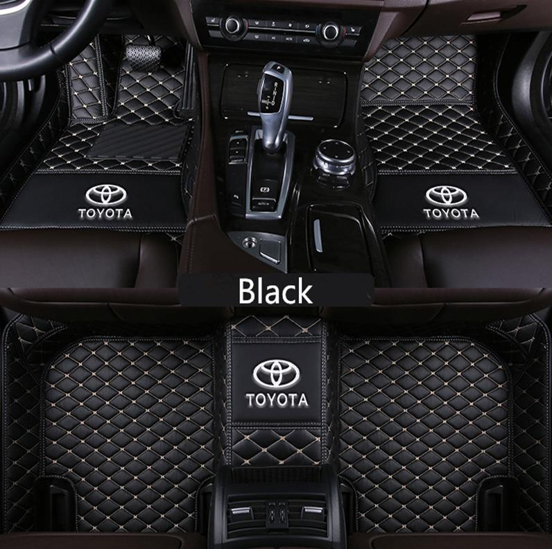 Applicable to Toyota Hilux 2009-2010 car PU interior mat non-slip  environmentally friendly tasteless non-toxic mat