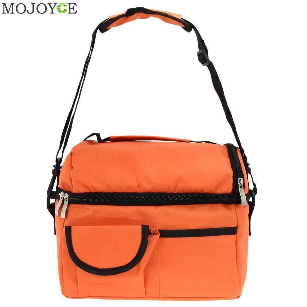 8l Square Thermal Bag Women Men Lunch Bag Cooler Beam Port Lunch Box Lady  Handbag Children Kids Bags Insulation Package