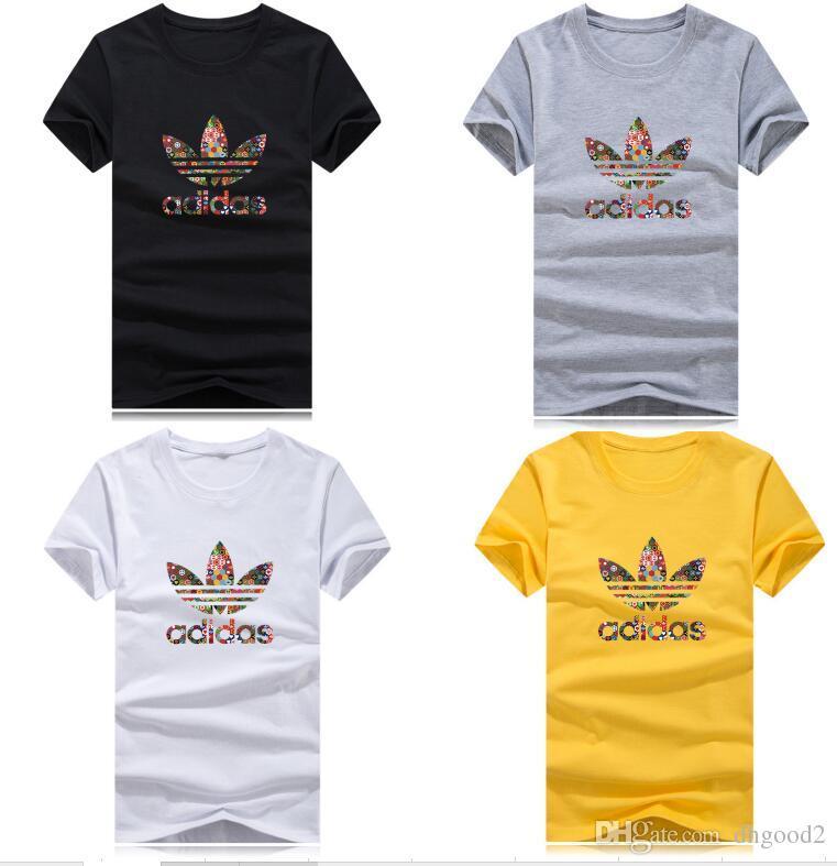 307e246f86b 2019 Wholesale Newest Fashion Men Women T Shirt Cotton Quality 3D Printing  O Neck Sports Clothing T Shirt S 5XL Shirt And Tshirt Create Your Own T  Shirt ...