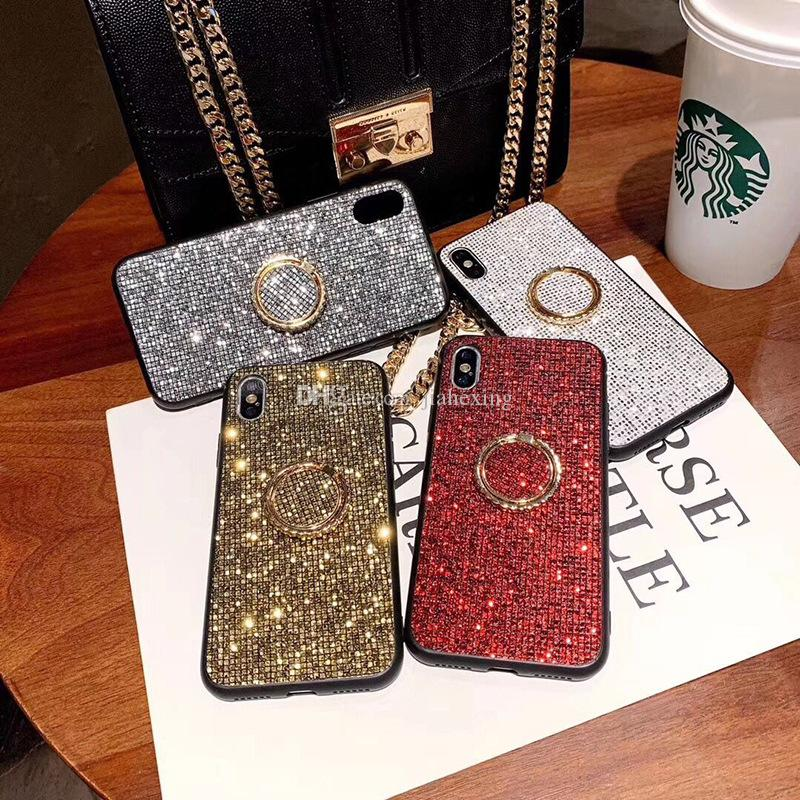 Fashion for Apple x phone case xs max New iphone6s Network Celebrity 7/8plus Flash support Ring