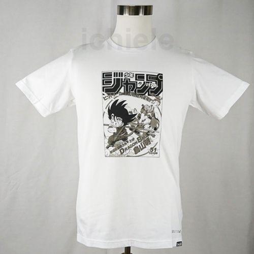 dfe72a57 UT UNIQLO Dragon Ball Weekly Jump Cover 50th Graphic T Shirt Japan S XL  2018 New Brand ,Mens T Shirt Cotton, Short Sleeve Print, Funky Tee Shirts  Humor T ...