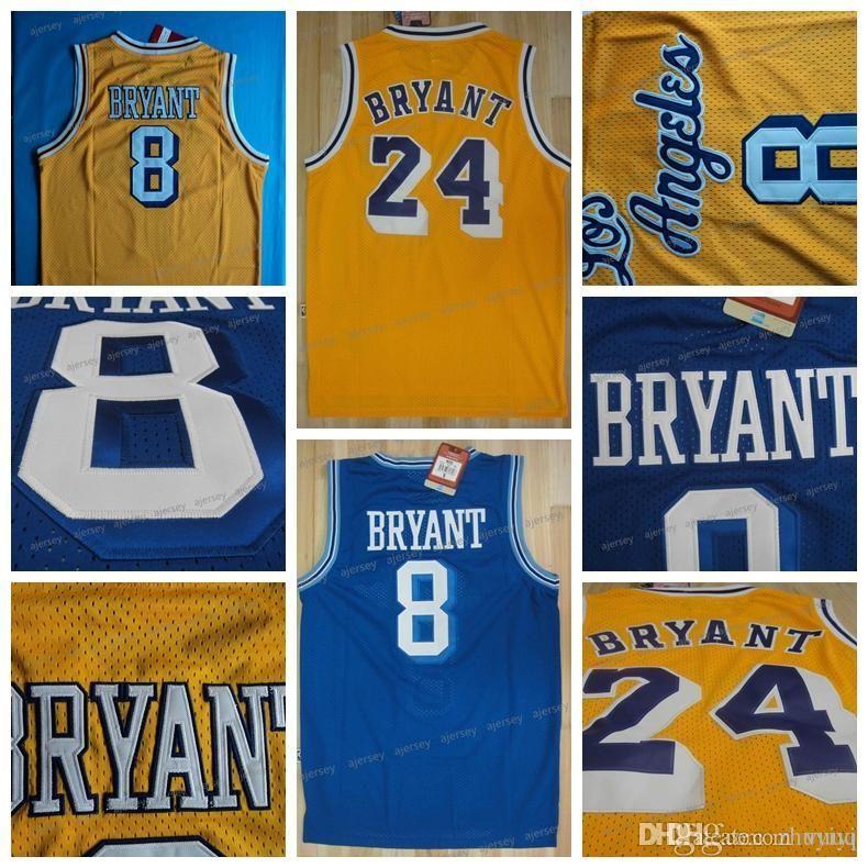 purchase cheap dae31 3e5ed Men Basketball Jersey Retro Kobe Bryant Kobe Bryant Top Quality Jerseys  Stitched Free Shipping size s-2xl