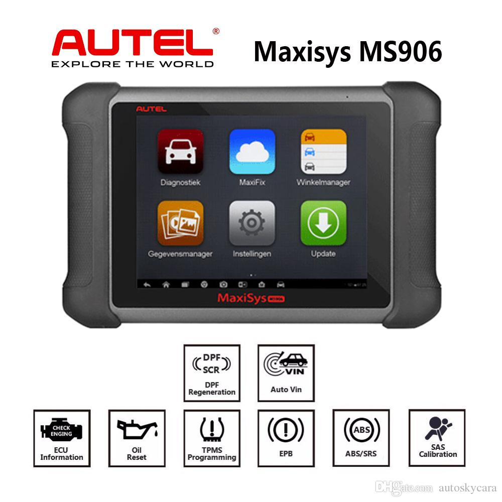 Automotive Scan Tool >> Autel Maxisys Ms906 Automotive Diagnostic Scanner Scan Tool Code