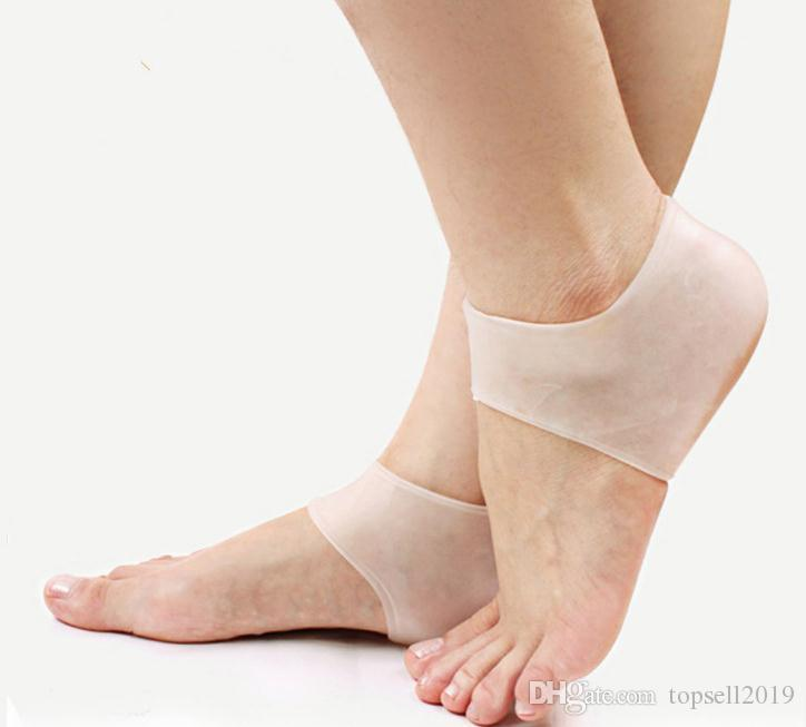 Silicone Moisturizing Gel Heel Socks Cracked Foot Feet Skin Care Protector Tool for Men and Women Home Supplies Free DHL SN2478