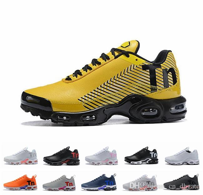 size 40 f0a82 0354c 2019 Mercurial Tn Plus 2 Men Women Running Shoes Chaussures Orange TNs  zapatos Sports Outdoors Mens Womens Trainers Sneakers Size 36-46
