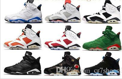 8215ec01b5a216 2019 Men Black Infrared 6 6s Mens Basketball Shoes CNY Carmine ...