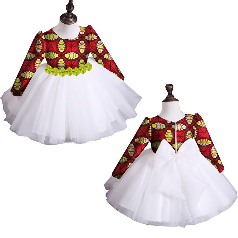 e0b9b0a982e 2019 New Summer Africa Children Clothing Dashiki Cute Girls Dresses Bazin  Riche Sweet African Traditional Clothing WYT115 Floral White Dress Womens  Floral ...