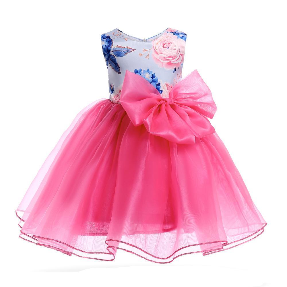 07b397166 Compre Buena Calidad 2019 Nuevo Verano Para Niños Vestidos De Niñas  Princesa Ropa De Bebé Ropa Para Niños Ropa De Fiesta Meninas Vestidos A   37.9 Del ...