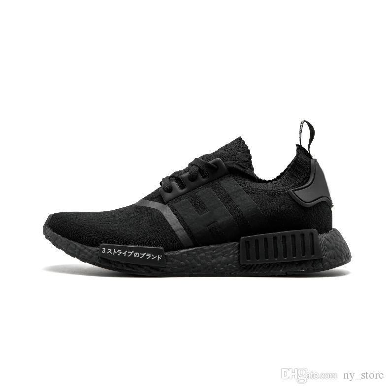 buy online 2378c f19cb NMD R1 Oreo Runner Japan Nbhd Primeknit OG Triple Black White Camo Running  Shoes Men Women Nmds Runners Xr1 Sports Shoe Size 5-11