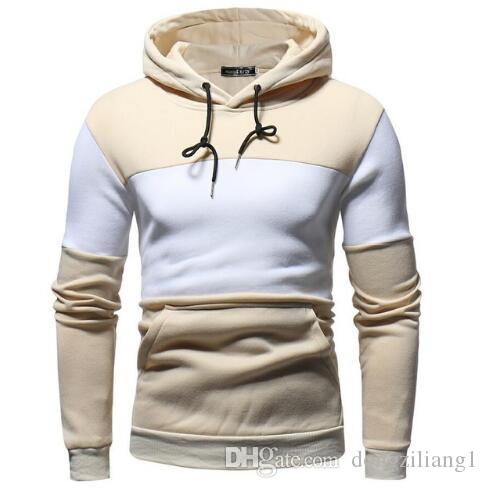 120b4e4a22 2019 2019 Casual Hoodies Men Sudaderas Hombre Hip Hop Mens Brand Color  Matching Jacket Hoodie Sweatshirt Fit Men Hoody XXXL From Dongziliang1, ...