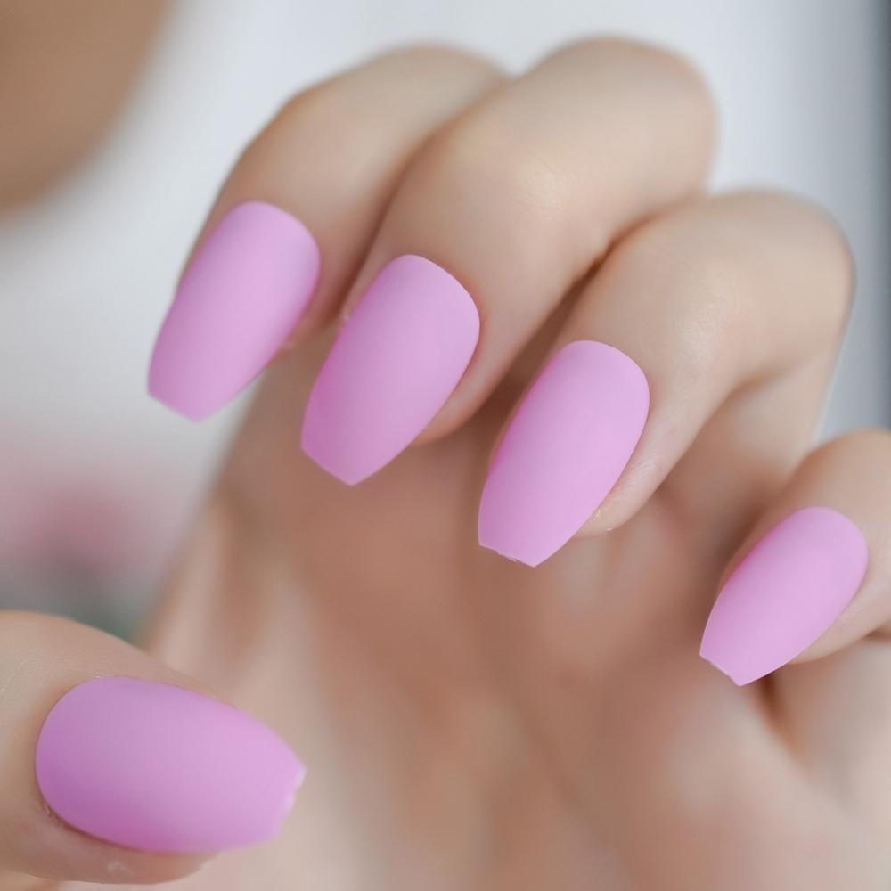 Матовый розовый цвет