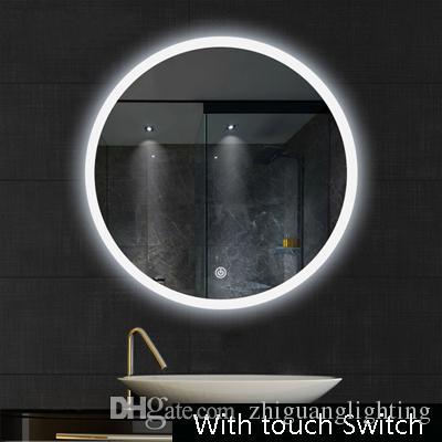 Salle de bains miroir LED lampe de toilette lavage toilette lavage salle de  bains lampe murale salle de bains miroir suspendu lumières LED magasin de  ...