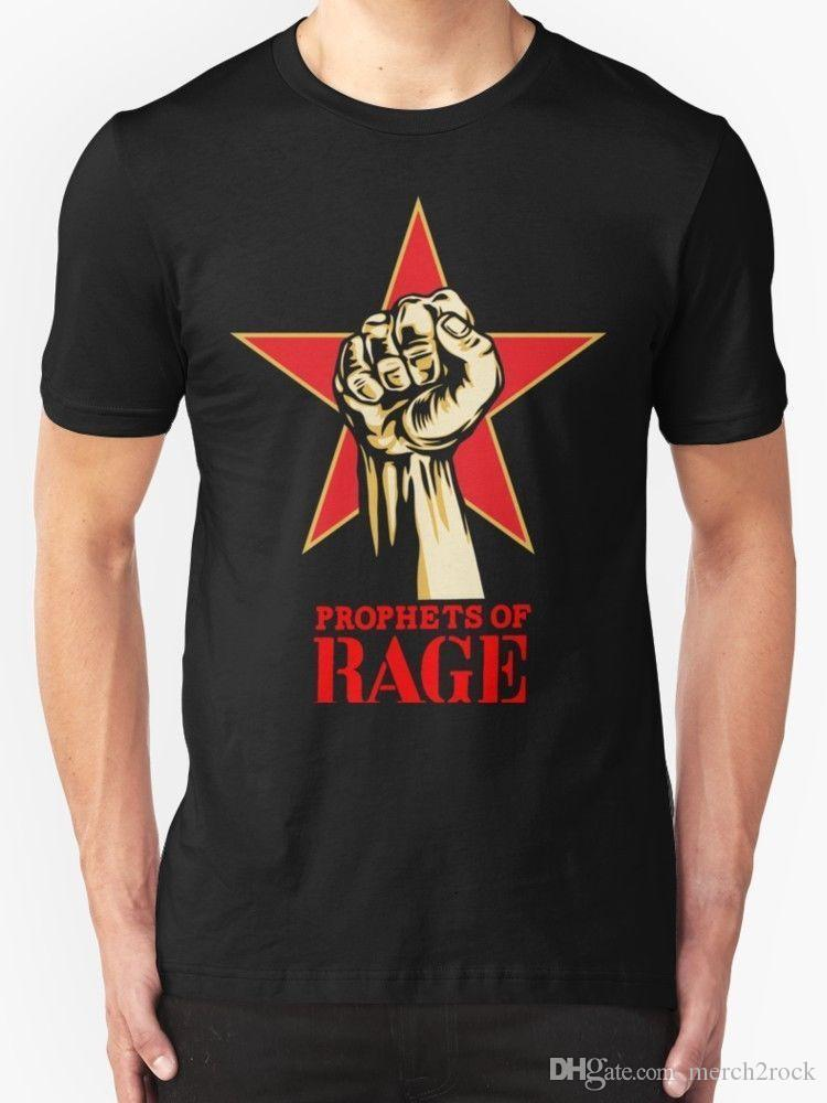 af9cabc6ebbc New BNR04 Prophets Of Rage Make America Rage Again Tour 2016 Men S T Shirt  Size Custom Shirt Black Shirts From Merch2rock