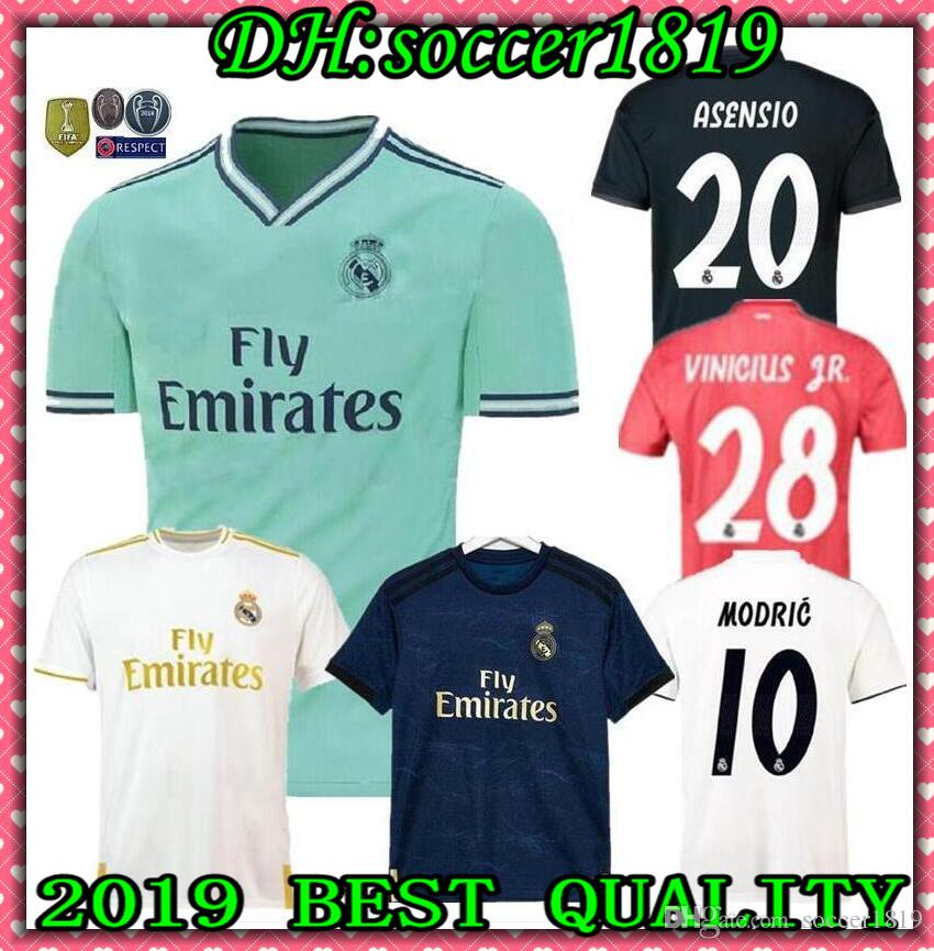 08090e9ce 2019 Real Madrid 2019 20 ASENSIO BALE ISCO Home Away 3rd Soccer Jersey  RAMOS BENZEMA Shirt 19 20 ZIDANE Camiseta Real Madrid Football Kit Jerseys  From ...