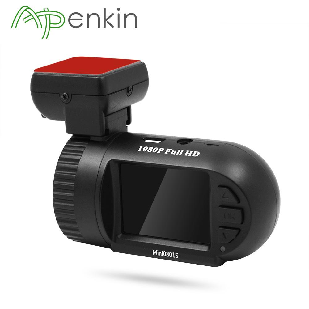 Arpenkin 0801 Aggiornamento Mini 0801S del precipitare della macchina fotografica di Super Condensatori Video Recorder Dash Cam HD 1080P G-Sensor Motion Detection DVR