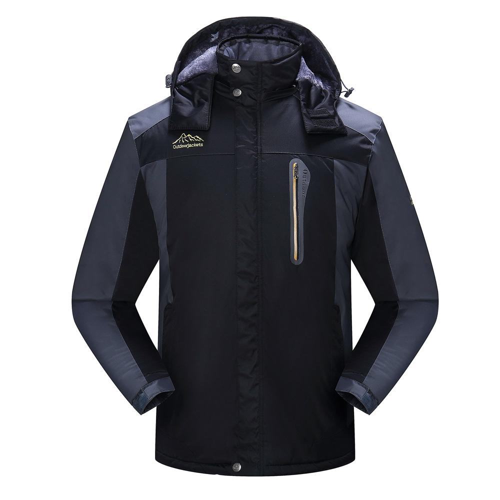 2019 Plus Size Ski Coat Winter Men Ski Jacket Outdoor Windproof Warm