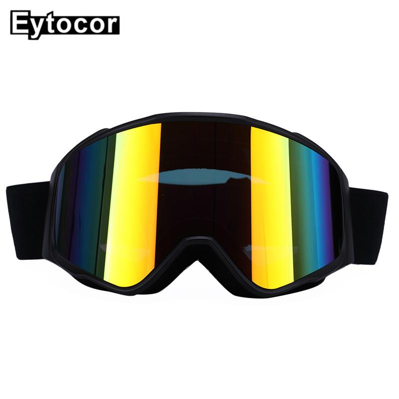 Compre Anti UV Óculos De Esqui À Prova De Vento Magnética Quick Mudança 2  Em 1 Lente Unisex Adulto Neve Óculos De Esqui Skate Snowboard Eyewear  EYTOCOR De ... 1638f7cf17