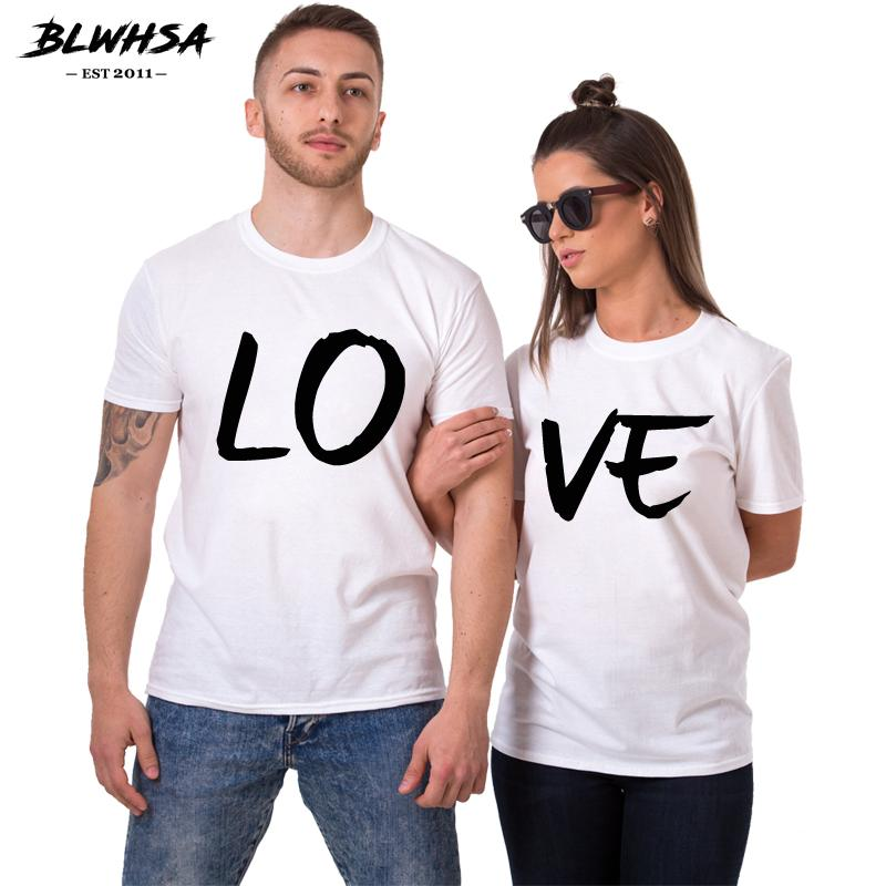 6ce0224039 2019 Wholesale Lovers Couple Summer Funny Couple Women T Shirts Heart Love  Printing Cool Men Short Sleeve Couple Boyfriend From T_shop008, $12.24 |  DHgate.