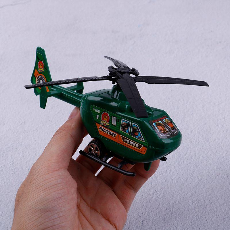 Enfants Cadeaux D Modèle Jouets Anniversaire Pc Ornements Hélicoptère Petit Rotatif 2 Jeux Pull Back Hélice Jouant Avion VqSpULMGz