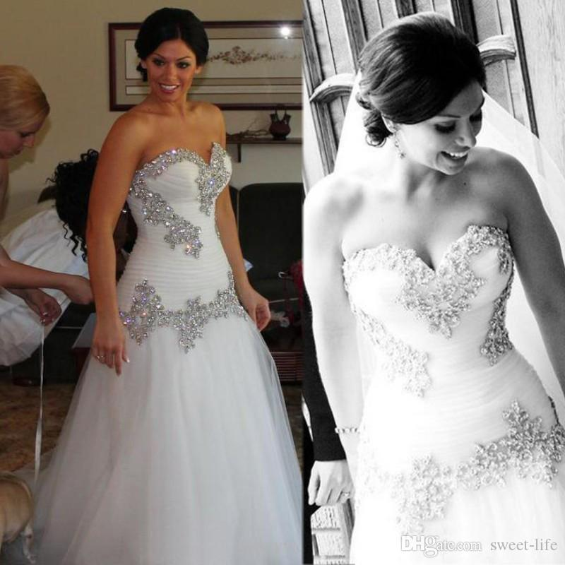 Pnina Tornai Wedding Dresses 2019: Discount 2019 Pnina Tornai Strapless Wedding Dress Vintage