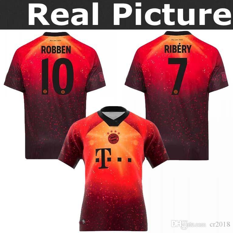 2019 TOP 2018 EA Sports Digital INSANE Bayern Munich SOCCER JERSEYS JAMES  2019 MULLER LEWANDOWSKI TOLISSO SPECIAL Galaxy Version 4th Jersey From  Cr2018 6fd1a6508
