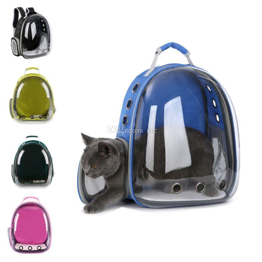 d4e629ad1f7 Backpack Pet Cat Backpack for Kitty Puppy Chihuahua Small Dog Carrier Crate  Outdoor Travel Bag Cave For Cat. Price: ...
