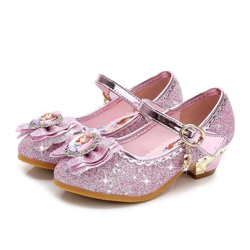 Kkabbyii Children Leather Sandals Child High Heels Girls Princess Summer  Sofia Shoes Chaussure Enfants Party Kids Casual Shoes Boys Shoes From ... d978ee6c7eb1