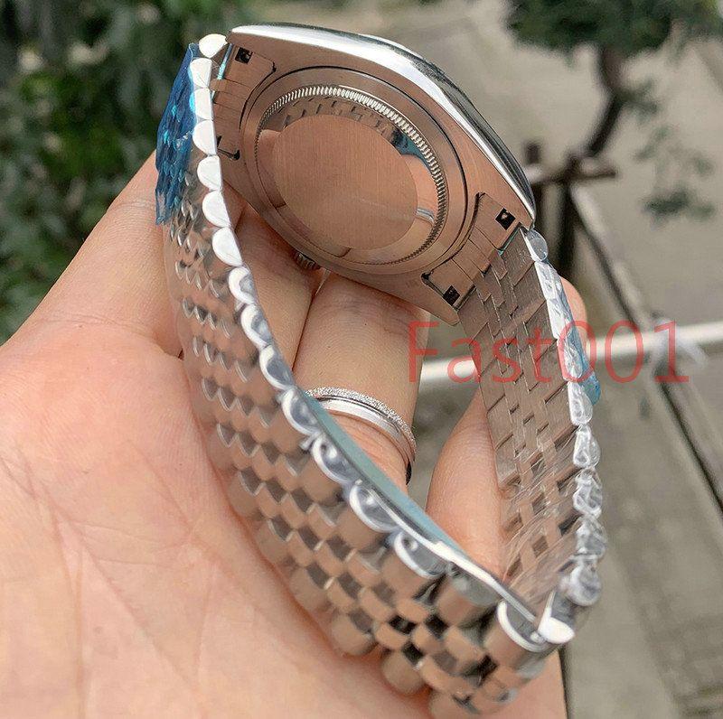 Herrenuhr 2813 Mechanische Automatikwerk 41mm Edelstahl Uhren Mode Männer Datum Just Designer Herrenuhren Armbanduhren