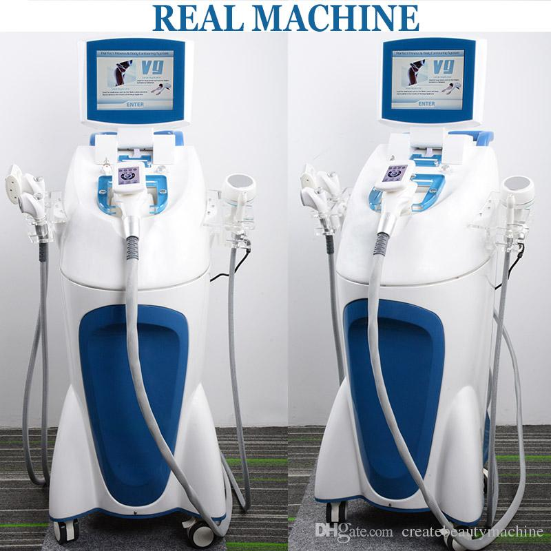 Velashape System rf cavitaion vacuum roller equipment Vela Shape Body Slimming Machine 5 IN 1 body shaping machine