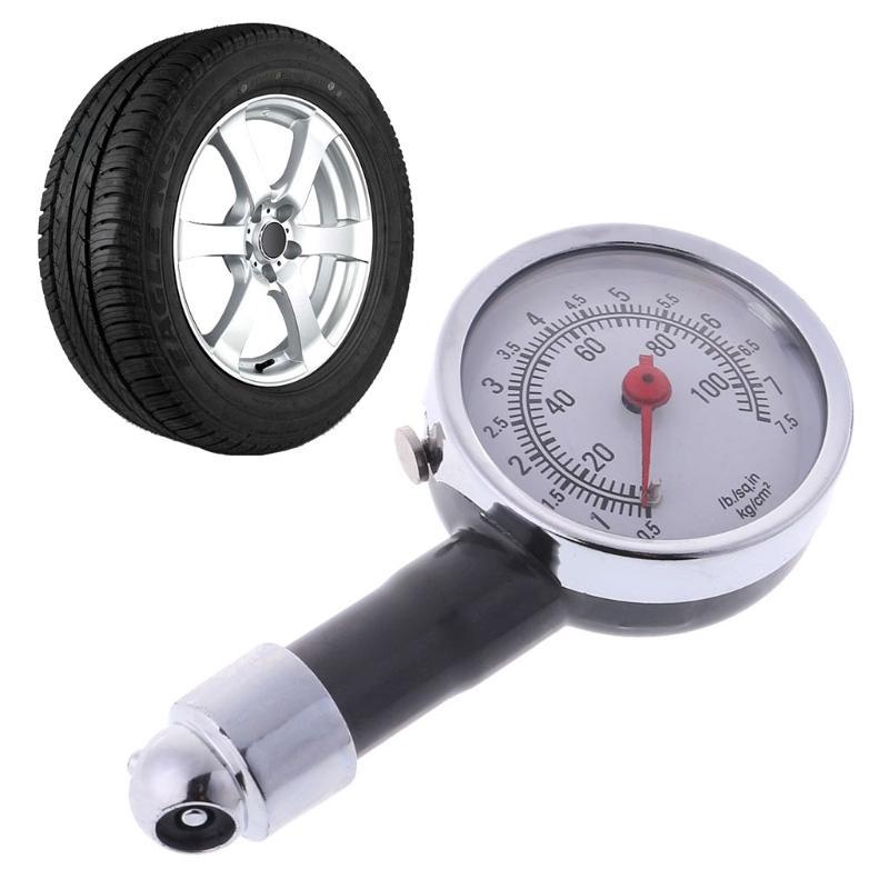 Tire Pressure Gauge 0-100 PSI Auto Car Bike Motor Tyre Air Pressure Gauge  Meter Drop Ship