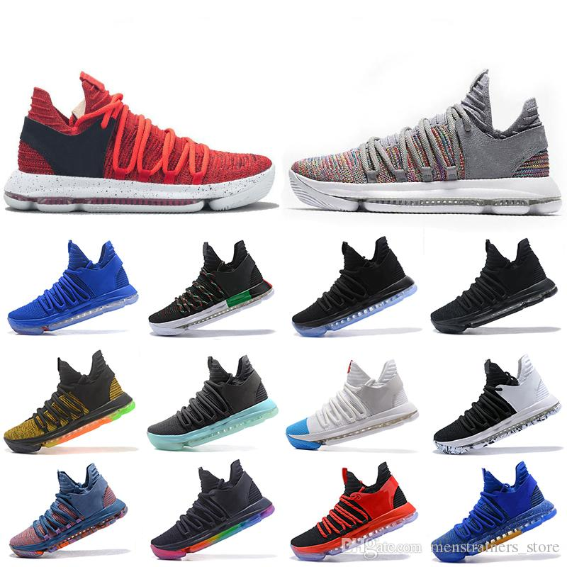 0591121b23b9 2019 Zoom KD 10 Mens Basketball Shoes Be True BHM Celebration Igloo Fruit  Pulp Igloo Designer Men Trainers Sports Sneakers 40 46 From  Menstrainers store