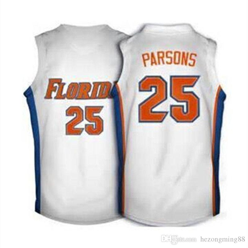 detailed look 6ef0d ff9cd High Quality #25 Chandler Parsons Florida Gators Men s Embroidery Stitched  Basketball Jersey Custom any name and number