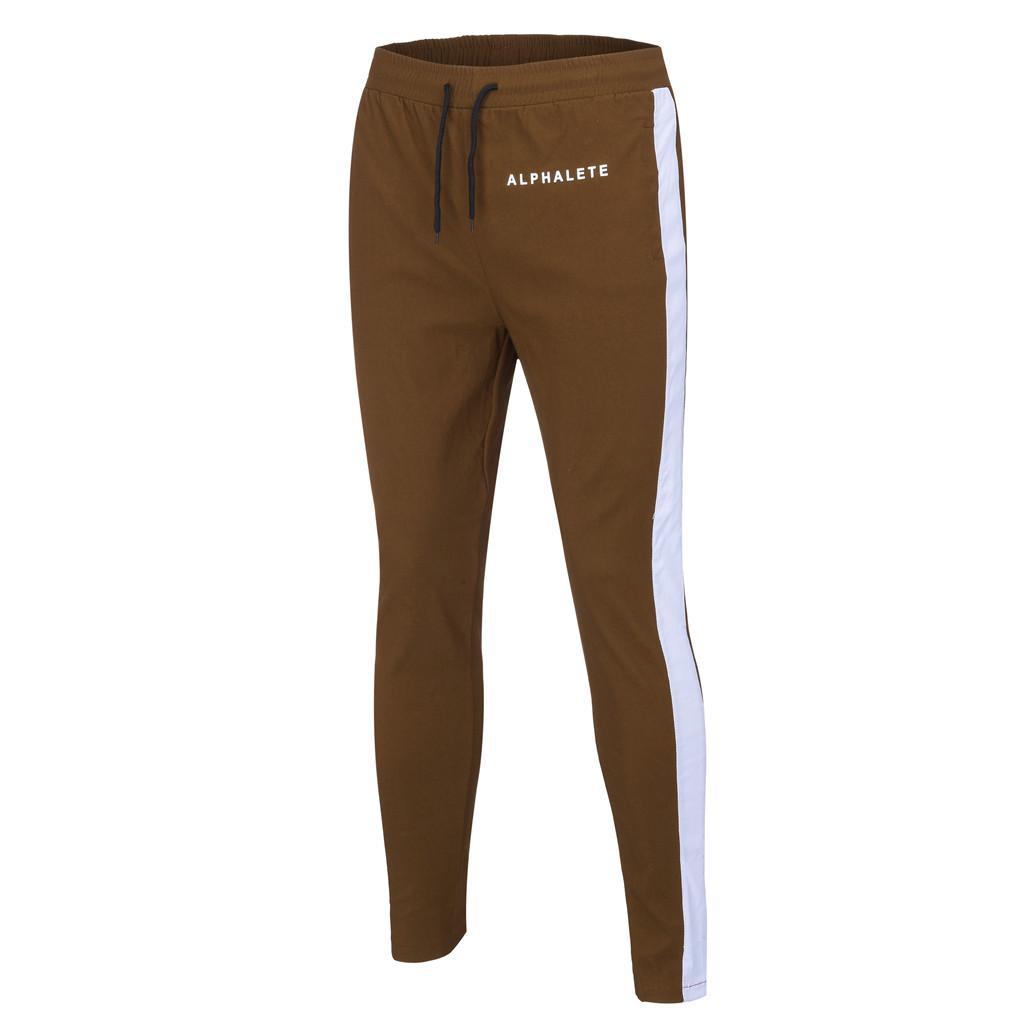 Pantaloni Uomo Skinny Sweatpants 2019 New Leisure Pantaloni stretti Fashion Pantaloni sportivi comodi Streetwear Track Jogger
