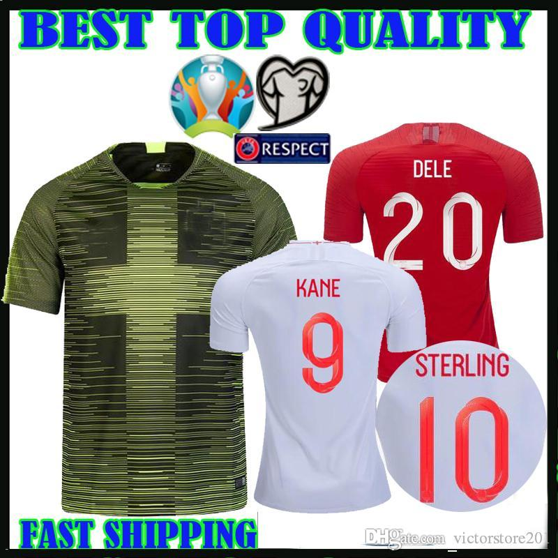 hot sale online a147d cc6dc European Cup 2019 england soccer jersey Remix Pre Match Shirts 19 20 home  away kane dele RASHFORD STERLING football shirts thailand quality