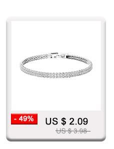Miallo la más nueva moda de cristal austriaco encanto pulseras accesorios de joyería de la boda estilo de la planta de las mujeres pulseras brazaletes