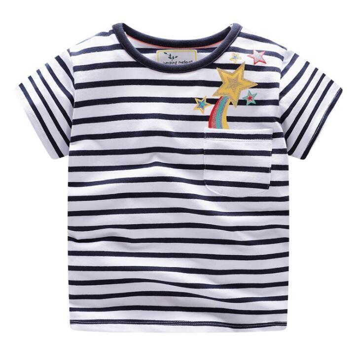 3a206e2fcc4 2019 Boys Tops Summer Children T Shirts Girls Clothes Kids Tee Shirt Fashion  Cartoon Cotton Character Print Baby Clothing From Lemonwedge