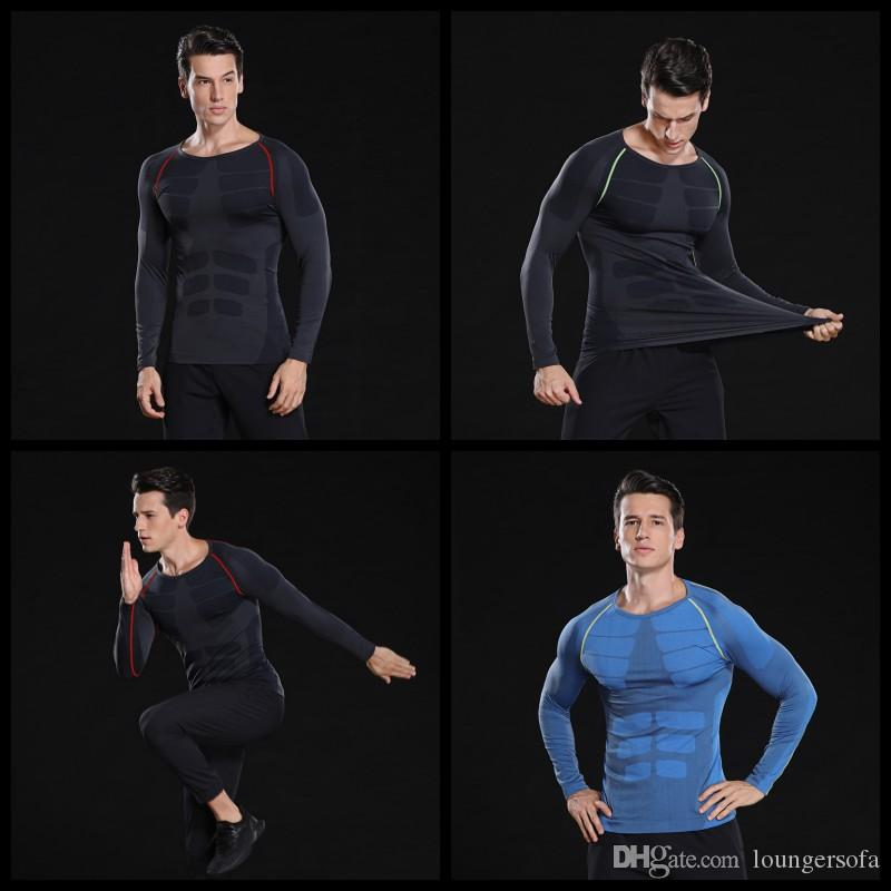 Fashionable Quick Drying Sports Suit Long Sleeves Comfortable Bardian Summer Motion Fitting Man In Stock For Hiking Sportswear 31 9hsH1