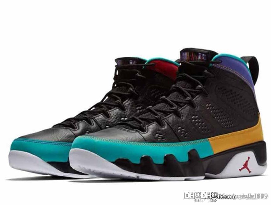 new styles e6a1e a3e9f 148 Aair 1 JORDAN 9 9s men basketball shoes Dream It Do It UNC Bred Space  Jam Shoes AIR