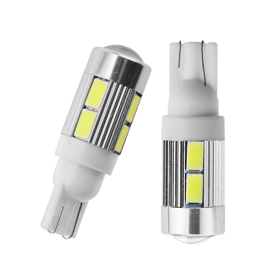Atv,rv,boat & Other Vehicle Automobiles & Motorcycles 10x Led T10 W5w Canbus Error Free Car Cob Tail Side Lamp Backup Bulb Light White Online Shop