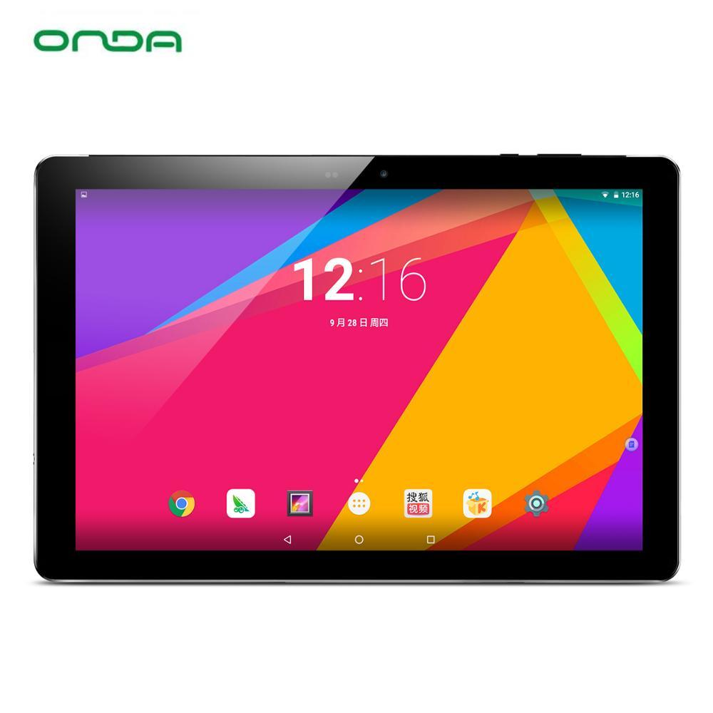 Onda V18 Pro Tablet PC Allwinner A63 Quad-Core 3GB Ram 32/64GB Rom 10.1 inch 2560*1600 Retina Screen Android 7.0 WiFi Bluetooth