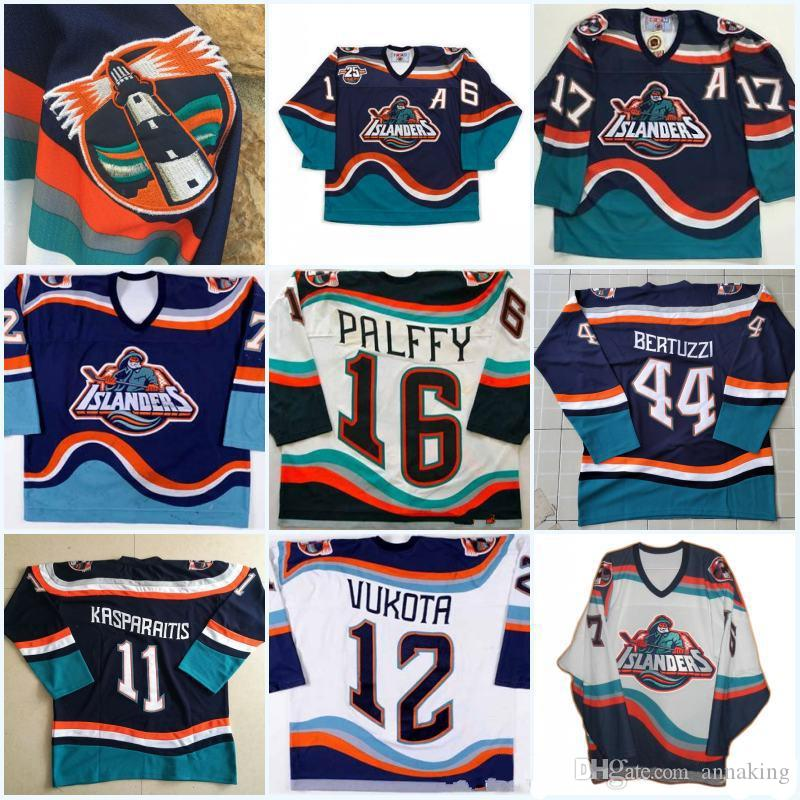 9b9e20d4c Wholesale New York Islanders 16 Ziggy Palffy Fisherman Darius ...