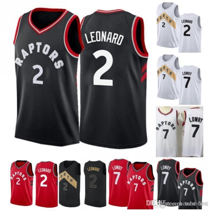 d895ab94 2019 City New Raptors 7 Kyle Lowry 2 Kawhi Leonard Toronto Jersey 15 ...