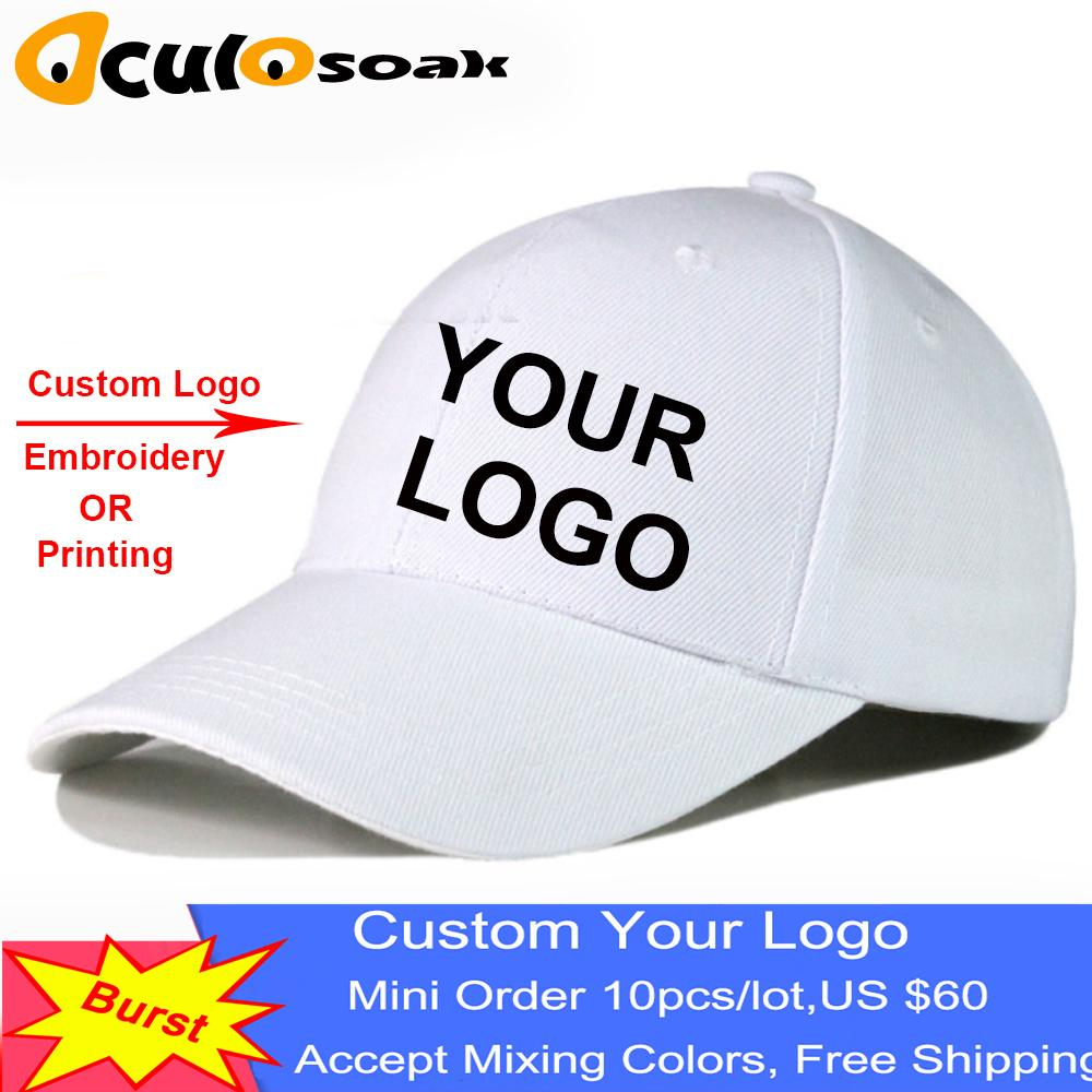 Hot Sun Hats Pure Cotton Golf Hat Adult Good Quality Peaked Cap Men Customized Solid Color Baseball Cap 10pcs/lot