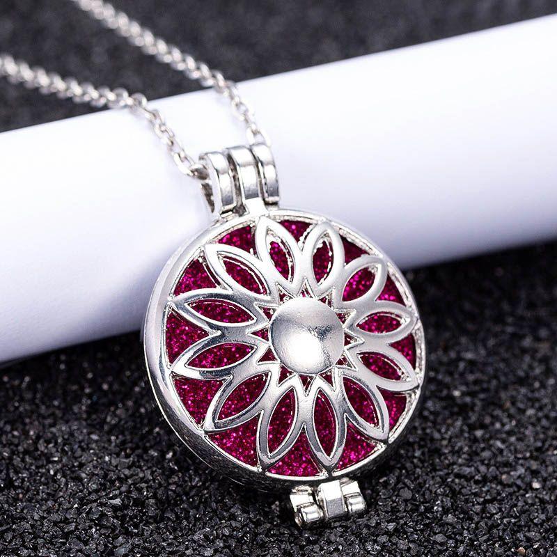 Wholesale 2019 Scented Diffuser Necklace Exquisite Pendant Perfume