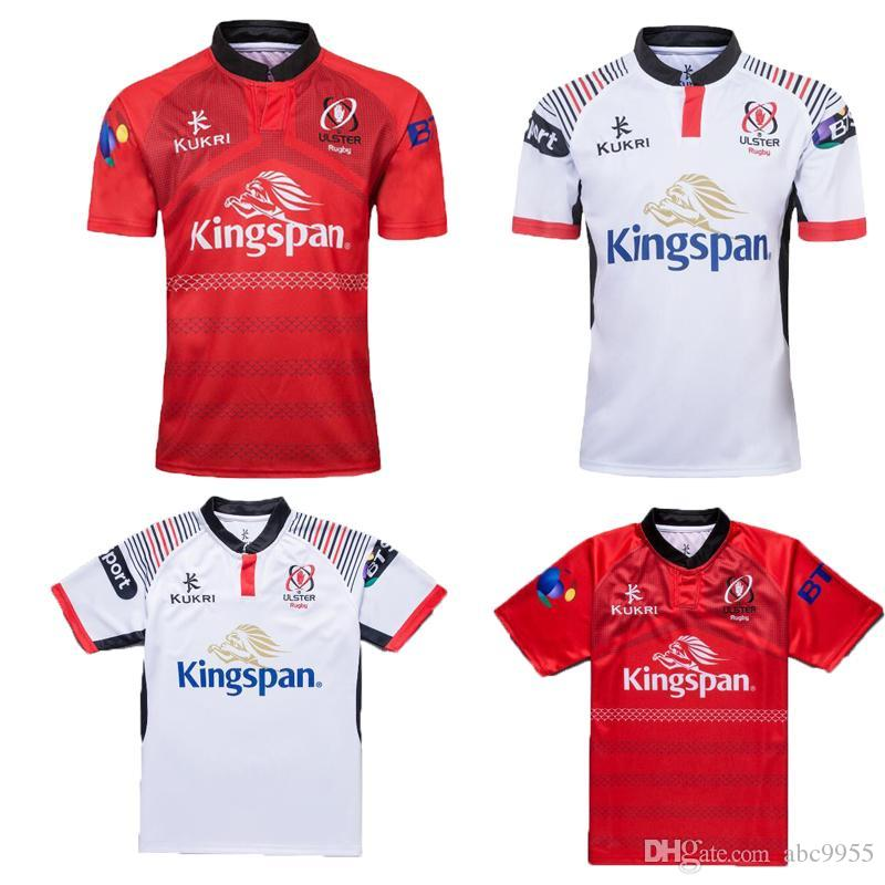 efe73c5aa9 Ulster 2019 Home And Away Rugby Jerseys Kukri Shirt 18 19 ULSTER ...